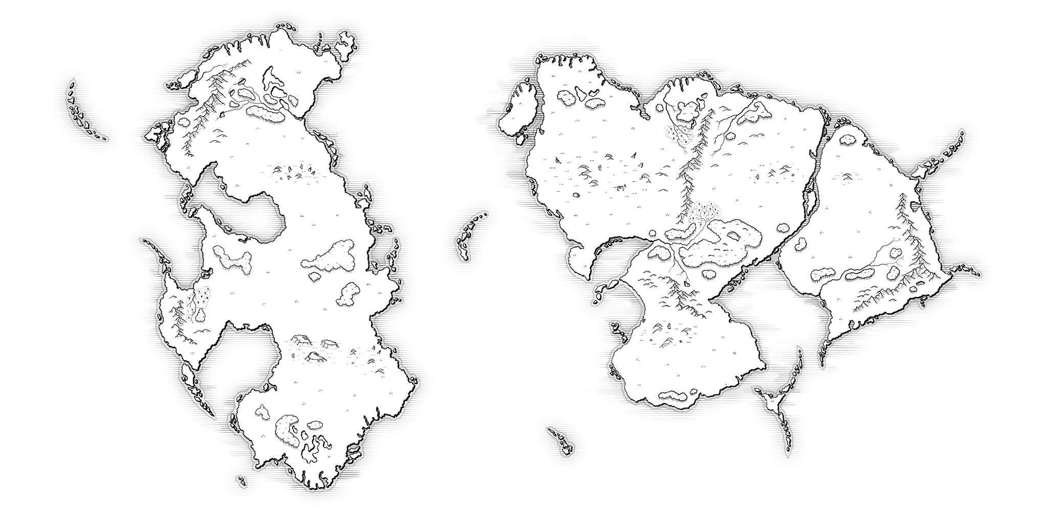 Step 9 - Styling your custom fantasy map