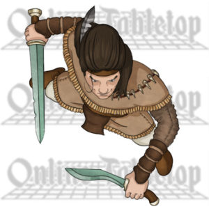 Online Tabletop custom hero token