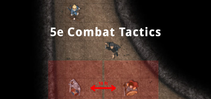 Header D&D 5e Combat Tactics Tips