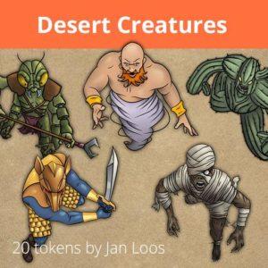 Desert Creatures Roll20