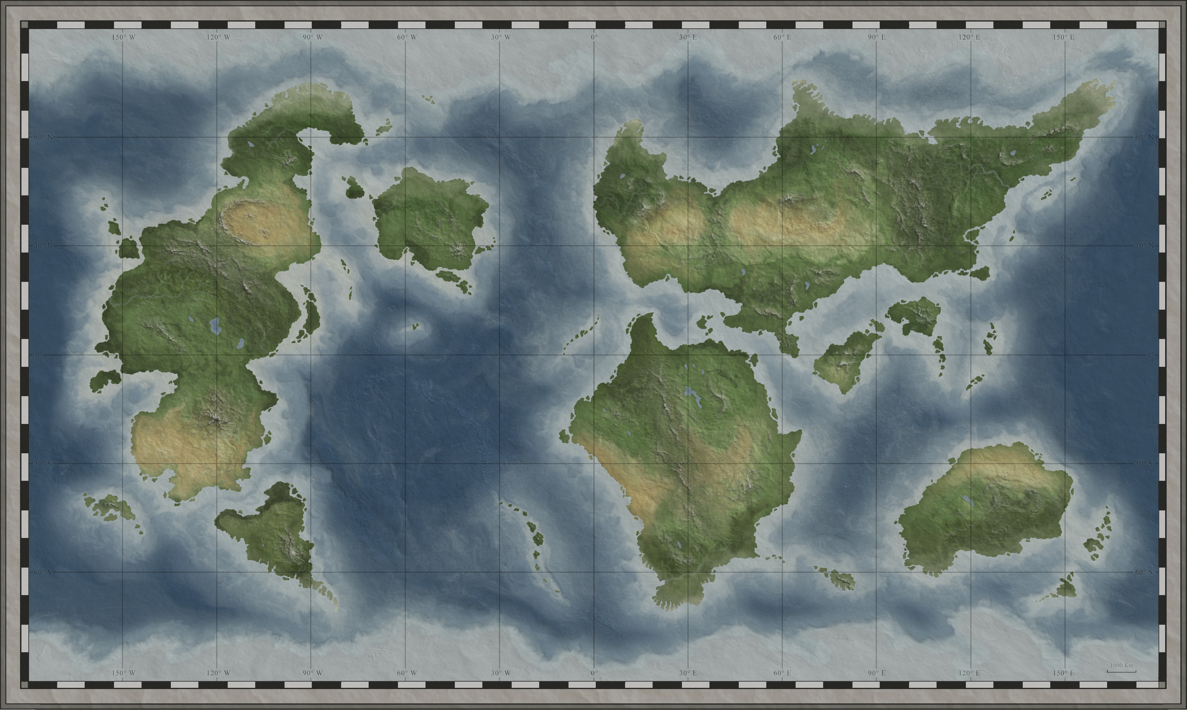 World map for your game!   Arts & Crafts   D&D Beyond General