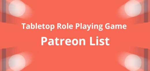 tabletop role playing game patreon list